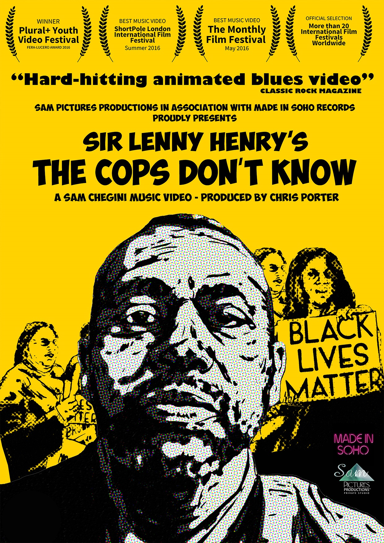 the cops don't know poster