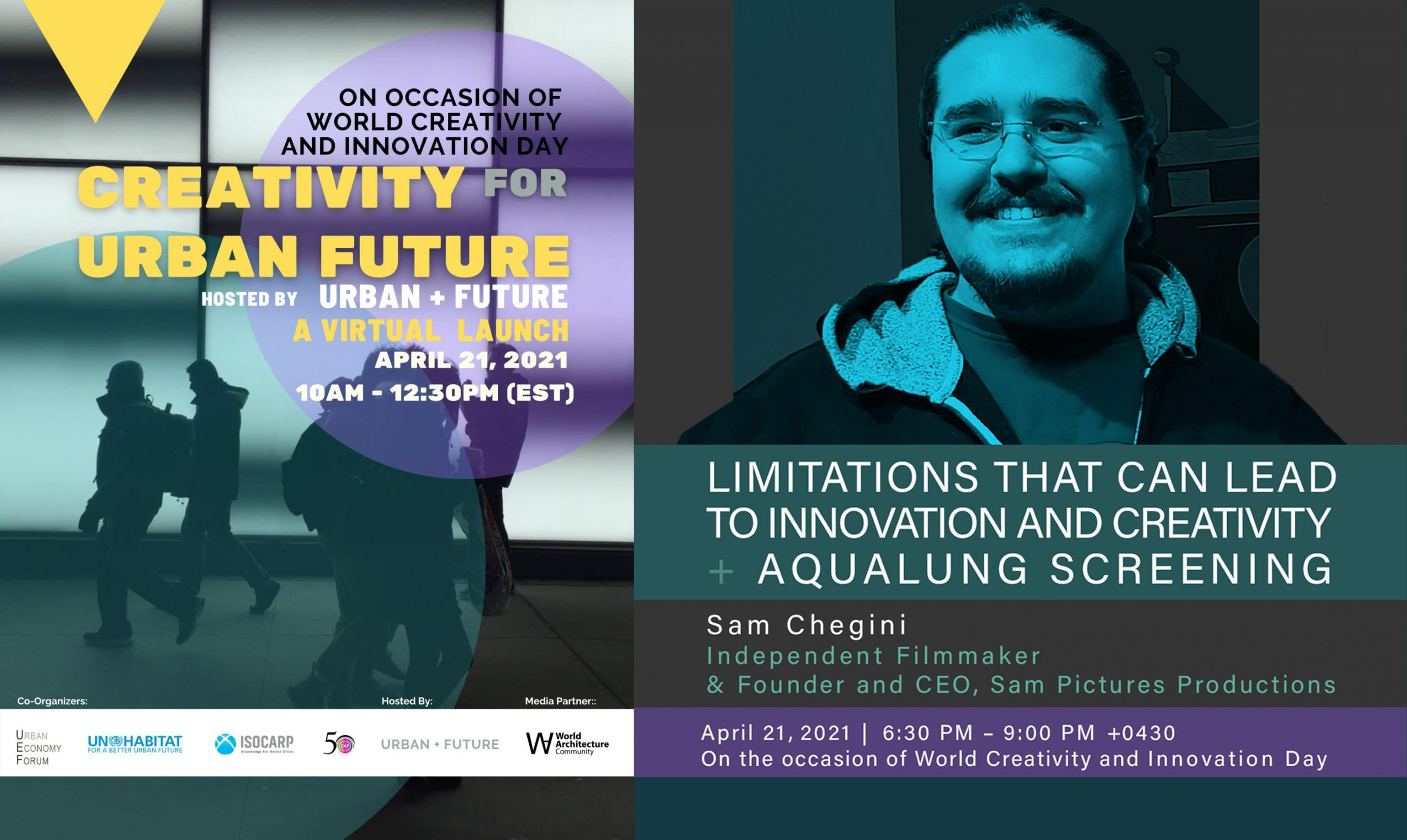Sam Chegini UN Speech on the occasion of World Creativity and Innovation Day
